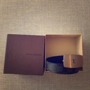 Louis Vuitton men's size 32 belt.